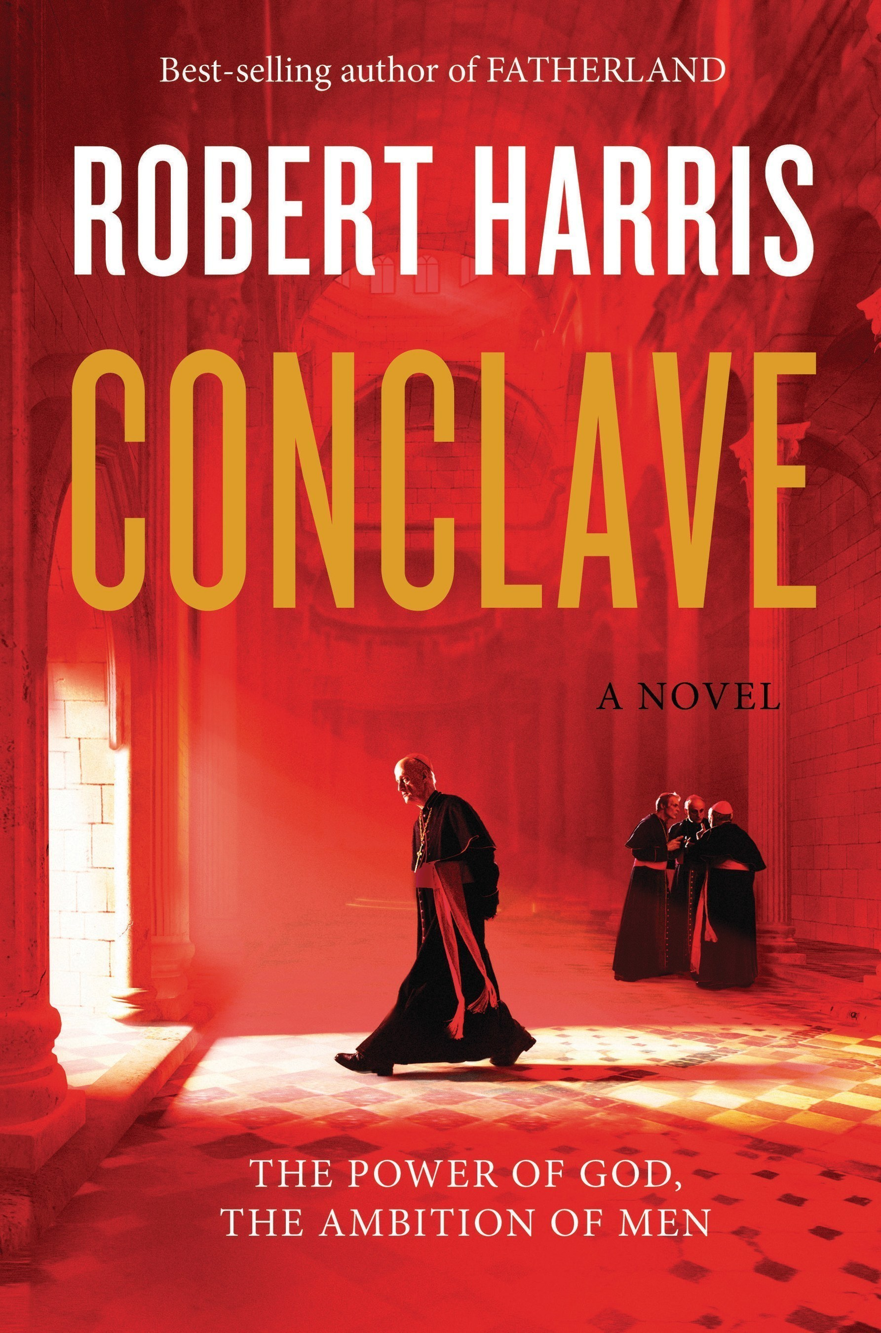 CONCLAVE book jacket (Alfred A. Knopf)
