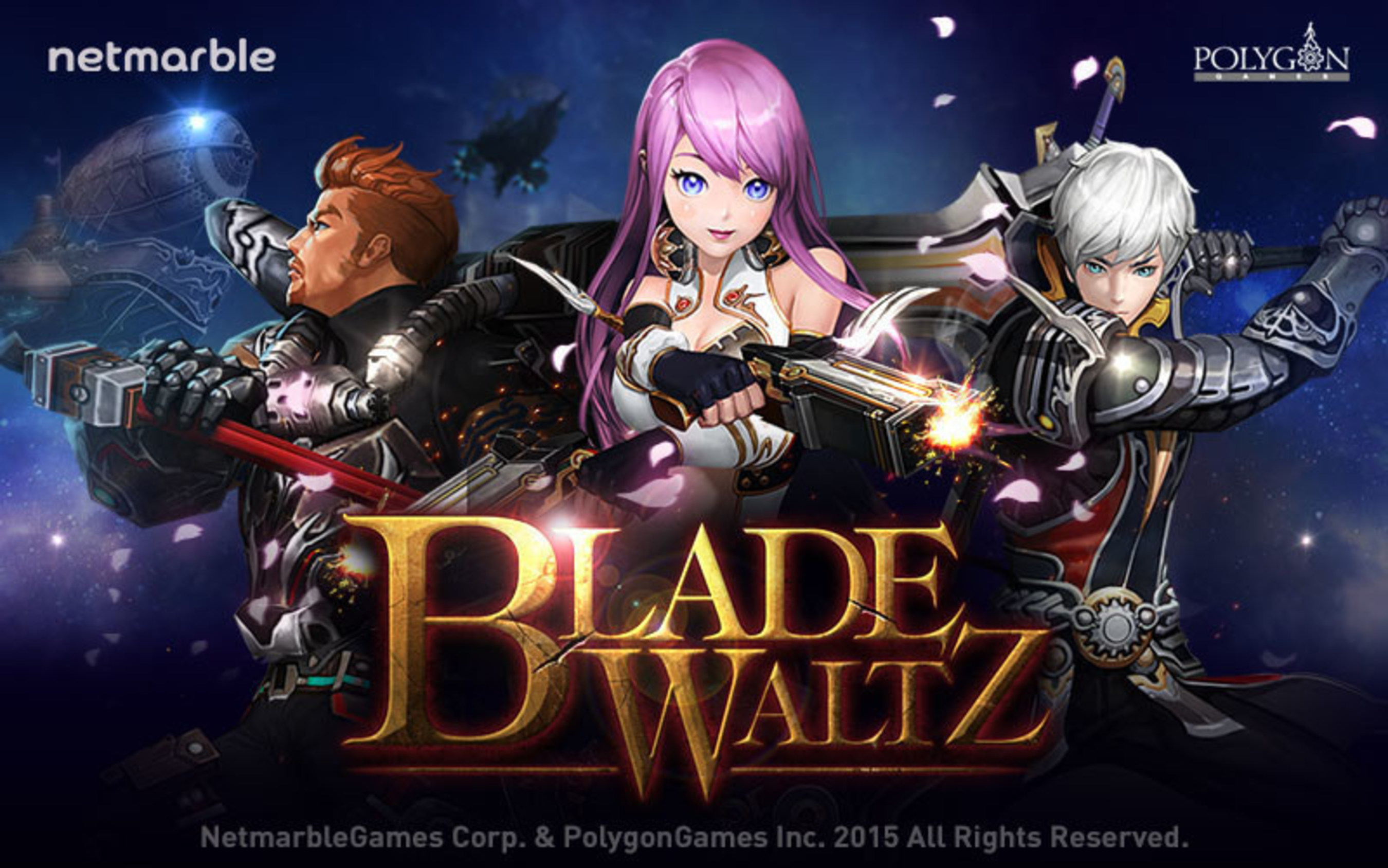 Blade Waltz, Newest Action RPG From Netmarble, Available Now For iOS And Android Devices