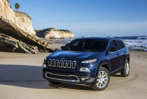 All-new 2014 Jeep Cherokee Limited.  (PRNewsFoto/Chrysler Group LLC)