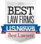 2013 Best Law Firms.  (PRNewsFoto/Shapiro, Lewis, Appleton & Favaloro)