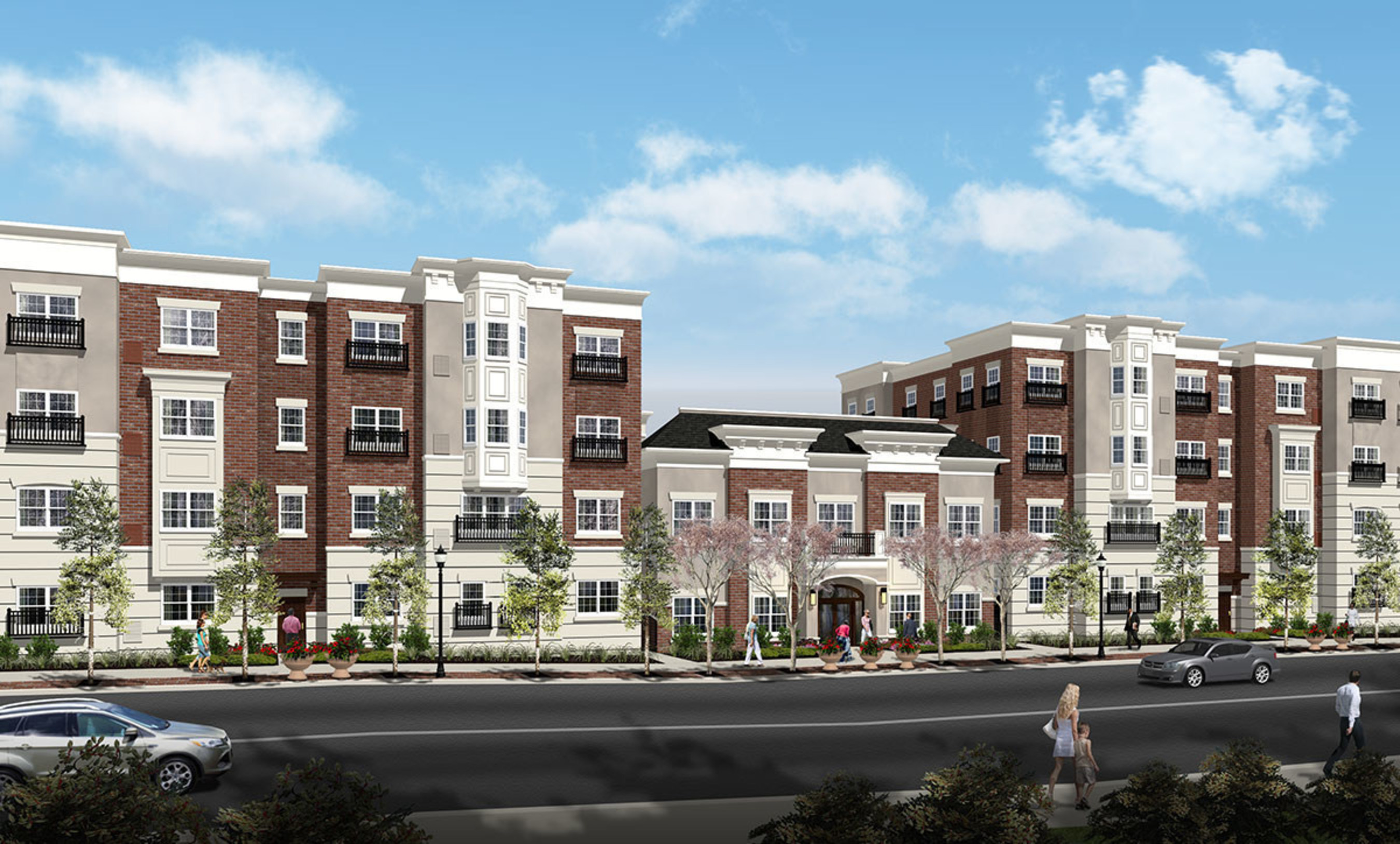 221 Bergen in Harrison, New Jersey opened its doors to its first residents on November 1