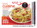 "Nestle is voluntarily recalling LEAN CUISINE(R) Culinary Collection Mushroom Mezzaluna Ravioli with production codes 2311587812 and 2312587812; the ""best before date"" appears as DEC 2013.  (PRNewsFoto/Nestle USA)"