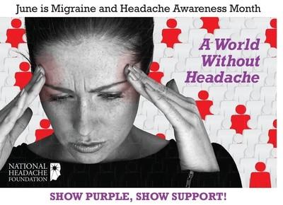 A World Without Headache (PRNewsFoto/National Headache Foundation)