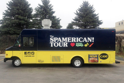 The Makers of the SPAM(R) Brand Teams Up with Sunny Anderson to Kick Off National SPAMERICAN(TM) Food Truck Tour