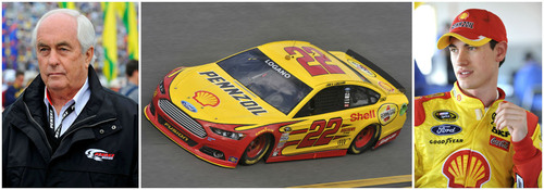 Shell and Pennzoil Extend Alliance With Penske Corporation. (PRNewsFoto/Shell) (PRNewsFoto/SHELL)