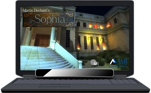 Sophia horror game with passive gaze interaction powered by SMI Eye Tracking technology www.smivision.com