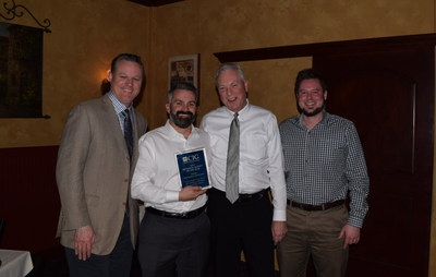 From left to right: Kevin Okelberry, CIG Director - Field Operations; Ryan Garaventa, Alpine Producer & Champion; Arne Chatterton, CIG President & CEO; Travis Reed, Alpine Producer