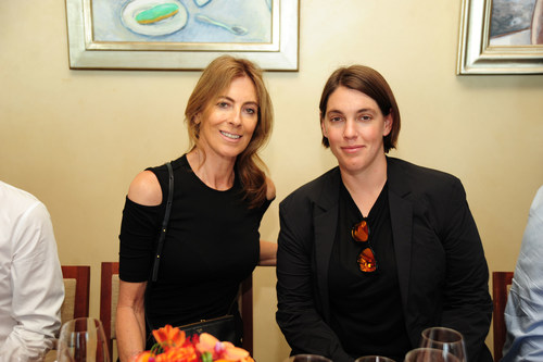 Kathryn Bigelow and Megan Ellison (PRNewsFoto/Infidea Studios)