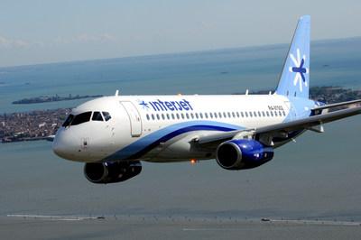 Interjet airplane (PRNewsFoto/Interjet)