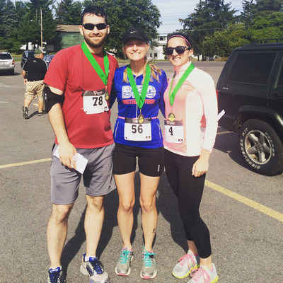 Bankers Healthcare Group would like to congratulate employees Kent Walker (left), Maria Milanesi (center) and Lisa Austin (right) on their outstanding performance in the sixth annual Ludden Fall Frolic 5K.