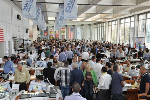 Diamond Buyers Invited to Register for International Diamond Week, September 1-4, 2014, at Israel Diamond Exchange (PRNewsFoto/The Israel Diamond Exchange)