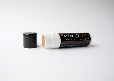 MENAJI Urban CAMO undetectable concealer for men gets official name update and organic formula.