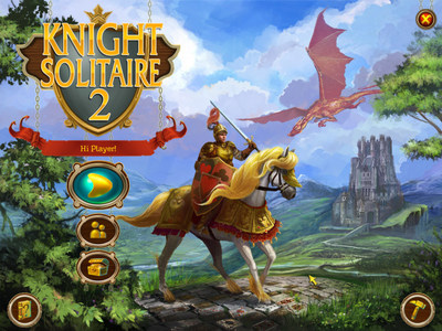 Knight Solitaire 2 - free game for PC (PRNewsFoto/MyRealGames.com)