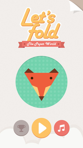 """Let's Fold"" is an Origami Puzzle App. (PRNewsFoto/FiveThirty)"