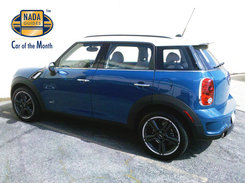 2011 MINI Countryman Awarded NADAguides June Car of the Month.  (PRNewsFoto/NADAguides)