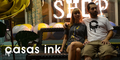 Casas Ink - Surreal and Tattoo Inspired Apparel. (PRNewsFoto/Casas Ink) (PRNewsFoto/CASAS INK)