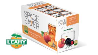 Space Saver Beverages Wins Beverage Industry Magazine's Best Packaging Award. (PRNewsFoto/Leahy-IFP) (PRNewsFoto/LEAHY-IFP)