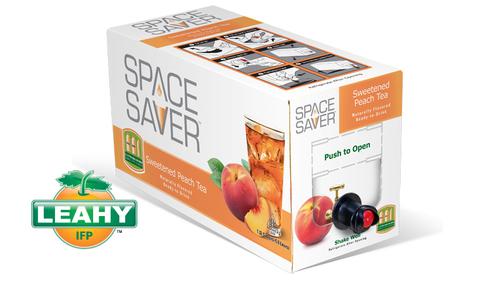 Space Saver Beverages Wins Beverage Industry Magazine's Best Packaging Award. (PRNewsFoto/Leahy-IFP) ...