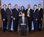 The Johnson Controls team accepted two 2014 FCA US Qualitas Awards for the company's diversity and cost reduction efforts.