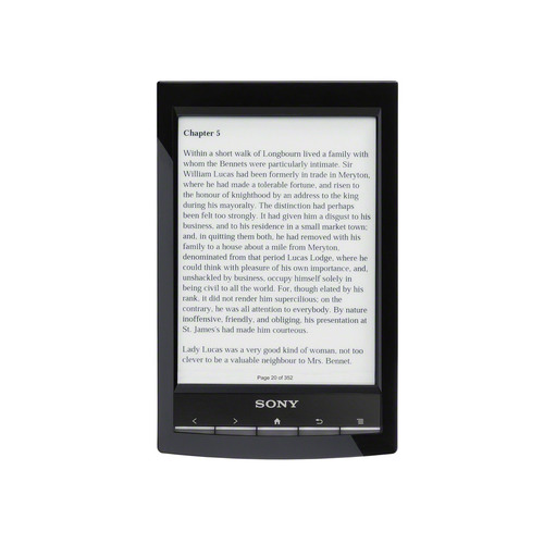 Sony introduces world's lightest 6-inch eReader with enhanced touch screen.  (PRNewsFoto/Sony Electronics)