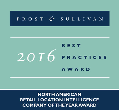Frost & Sullivan recognizes InvenSense with the 2016 North American Company of the Year Award.