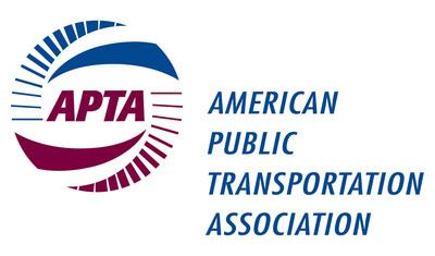 American Public Transportation Association logo.  (PRNewsFoto/American Public Transportation Association)