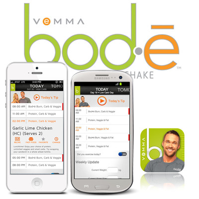 The star of the newly launched Vemma Bod-e 2.0 app is TV Celebrity Transformation Specialist and best-selling author, Chris Powell.