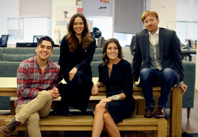 Emilio Rosas, Account Director at DDB New York; Melissa Martinez, CMO of DDB New York; Wendy Clark, CEO of DDB North America; Chris Brown, President and CEO of DDB New York