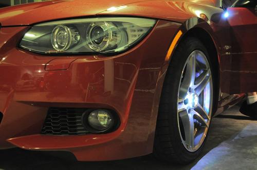 BMW With Micro Generator Smart Wheel Technology. (PRNewsFoto/Intelligent Power & Light) (PRNewsFoto/INTELLIGENT POWER & LIGHT)