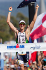 Pete Jacobs And Leanda Cave Celebrate Victories At The 2012 IRONMAN World Championship Presented By myList