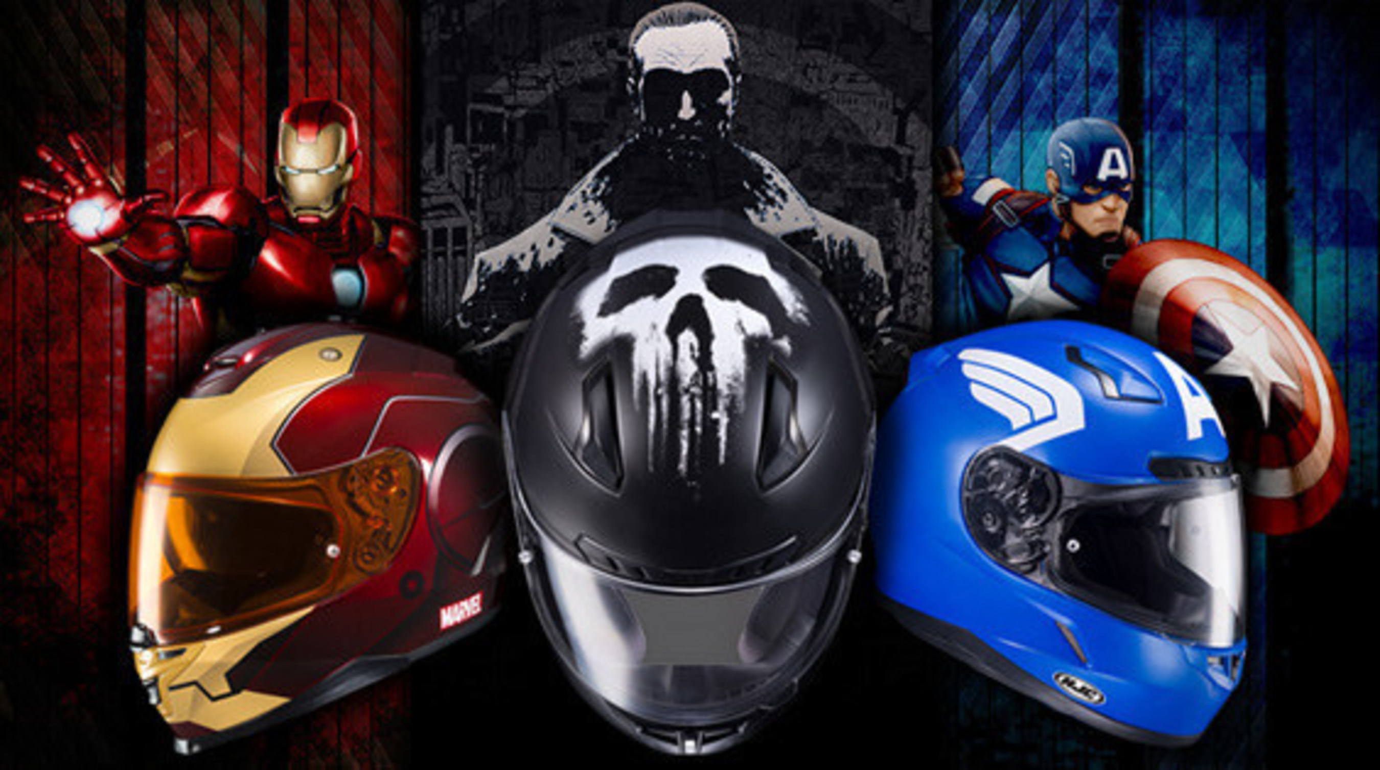 Become Your Own Hero With Marvel and HJC Helmets