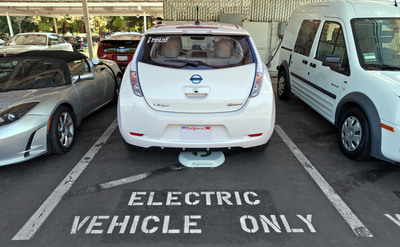 Two Additional Partners Trialing Plugless Power™ Wireless Electric Vehicle Charging