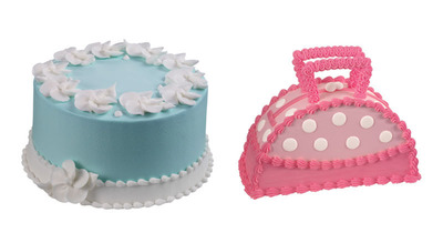 New Petals & Pearls Cake or Designer Handbag Cake Make the Perfect Personalized Treat to Surprise and Delight Mom this Holiday.  (PRNewsFoto/Baskin-Robbins)