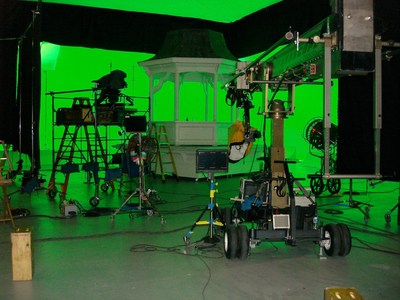 Santa Fe University of Art & Design's Garson Studios' Stage A has the largest permanent green screen in the state of New Mexico and students from the Film School have the unique opportunity to intern on professional productions on all three soundstages alongside Hollywood professionals.