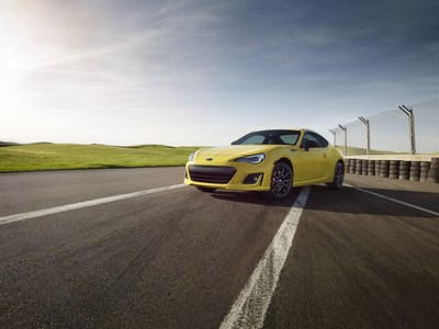 Subaru announces 2017 BRZ Series.Yellow Special Edition