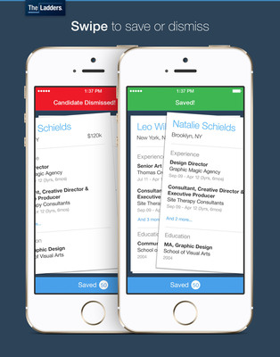TheLadders Launches Mobile App to Personalize Recruiter Experience