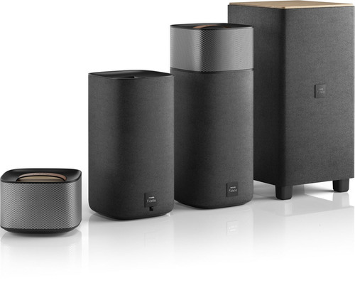Philips Fidelio E5 is the ideal home cinema audio solution for consumers who want high-definition surround ...