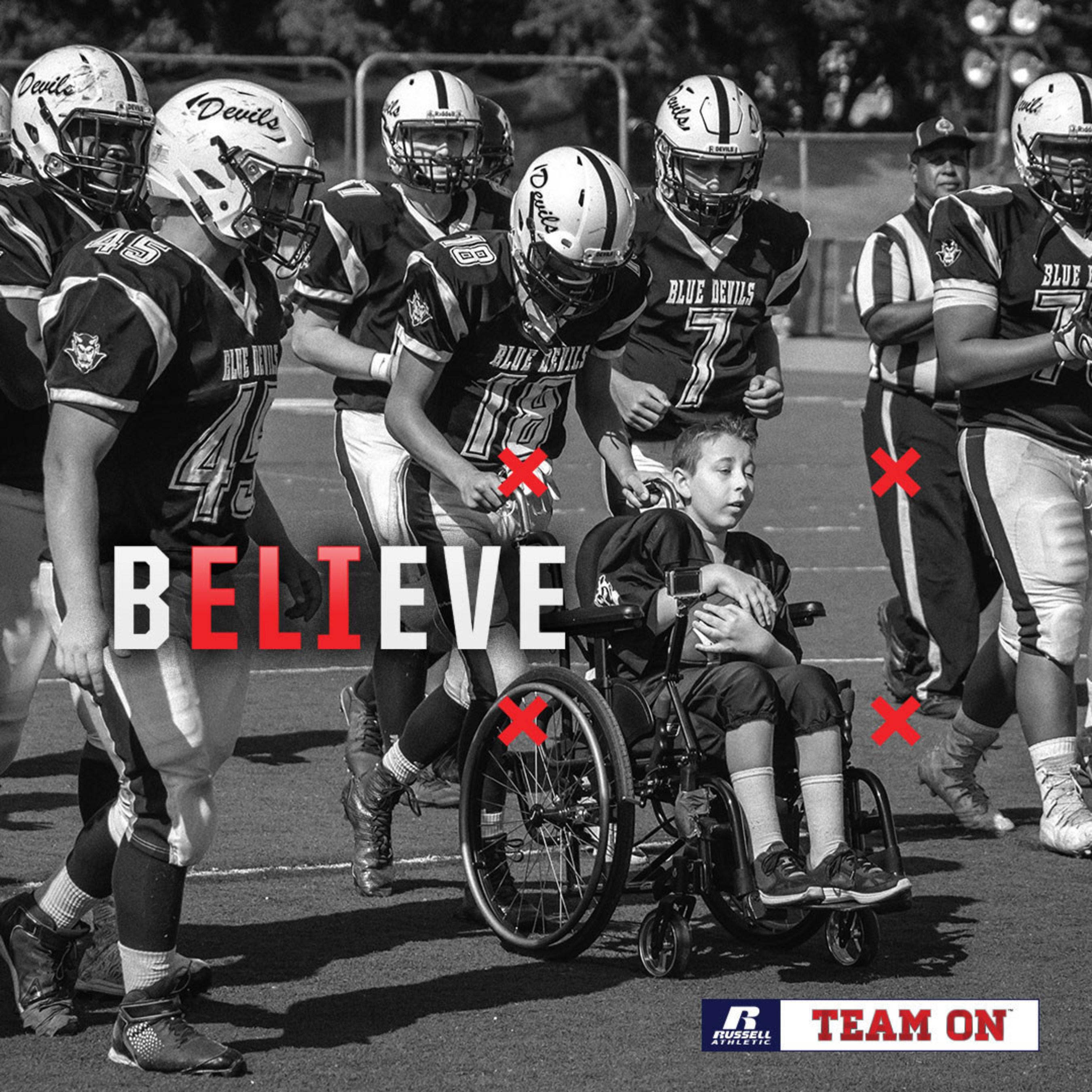 2016 Fight Like Dylan Recipient Huntington High School Blue Devils Football Team