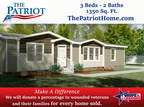Clayton Built unveils The Patriot, donation program to Hope for the Warriors!