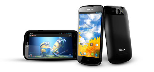 BLU Products begins shipments on new BLU Dash 4.5 smartphone device bringing Quad-Core Processor,