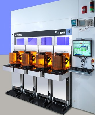 The Purion H ushers in a revolutionary new era of high performing implant technology, elevating what customers will come to expect from high current implanters. A few of its many new and innovative features include: Next generation scanned spot beam technology with precision implant angle and dose control to enhance device performance and yield; Enabling process control technology to minimize all forms of contaminants to ensure absolute beam purity; and common Purion cross-platform architecture designed to drive manufacturing flexibility and lower the total cost of fab operations. (PRNewsFoto/Axcelis Technologies, Inc.) (PRNewsFoto/Axcelis Technologies, Inc.)