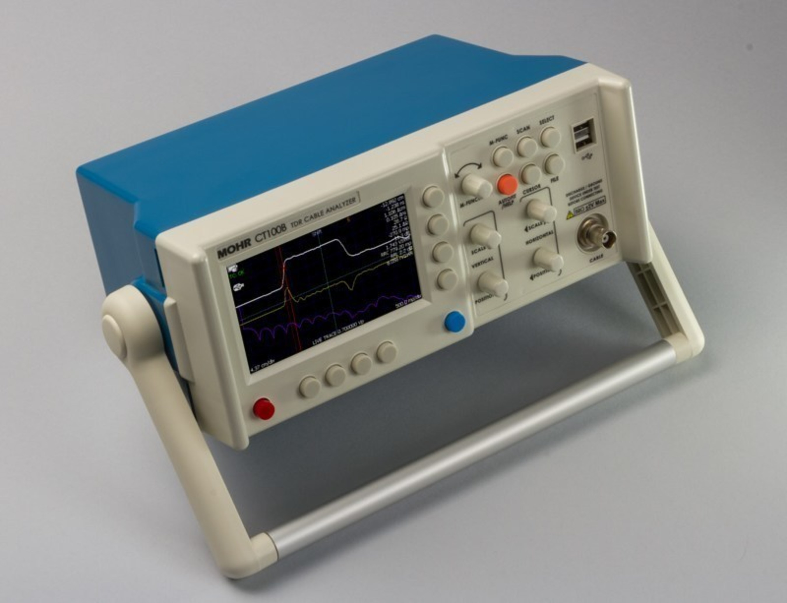 MOHR CT100B TDR Cable Analyzer