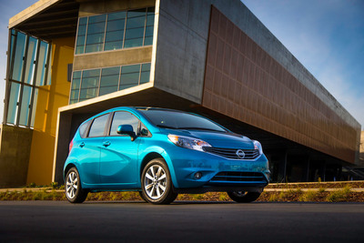 2014 VERSA NOTE ON SALE WITH $13,990 STARTING PRICE.  (PRNewsFoto/Nissan North America)