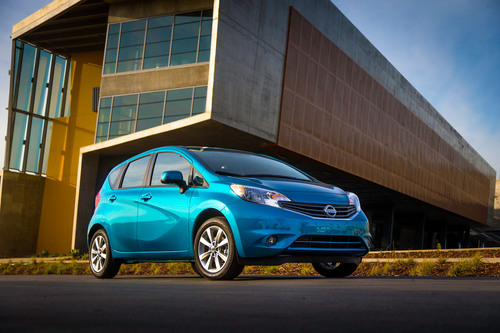 2014 VERSA NOTE ON SALE WITH $13,990 STARTING PRICE.  (PRNewsFoto/Nissan North America)