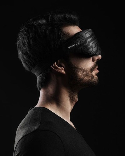 Neuroon can be adjusted to user's head to provide the highest comfort. (PRNewsFoto/Inteliclinic)
