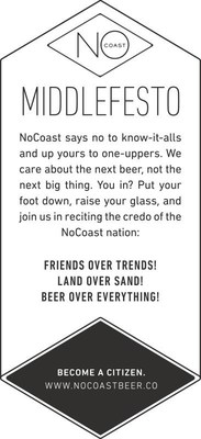 NoCoast Beer Co. Middlefesto