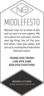 NoCoast Beer Co. Middlefesto