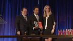 Viteos CEO Shankar Iyer accepts the HFM Best Shadow-accounting Firm Award 2014