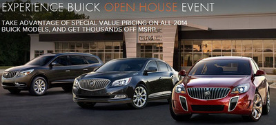 With only a few days left in the month, there is still time for people to take advantage of the Open House events happening at Cavender Buick GMC West.  (PRNewsFoto/Cavender Buick GMC West)