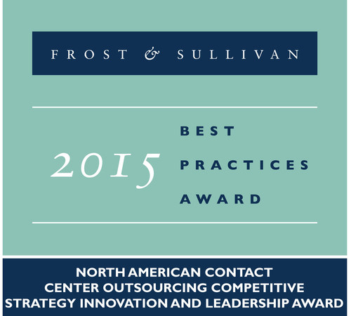 Frost & Sullivan Recognizes Alorica for Catapulting into a Leadership Position Within the BPO